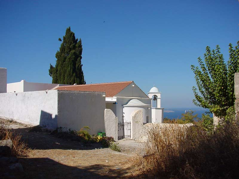 The Church of Agios Dimitrios.