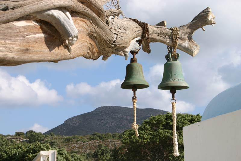 The bells at the Church  of Ag. Theologos.