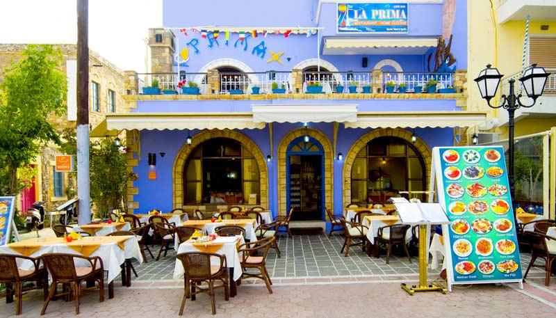 La Prima Restaurant Kos Island Greece