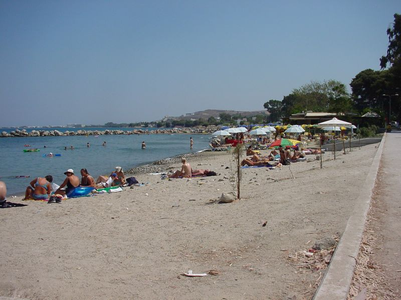 Beach beside 'To Spitaki'.