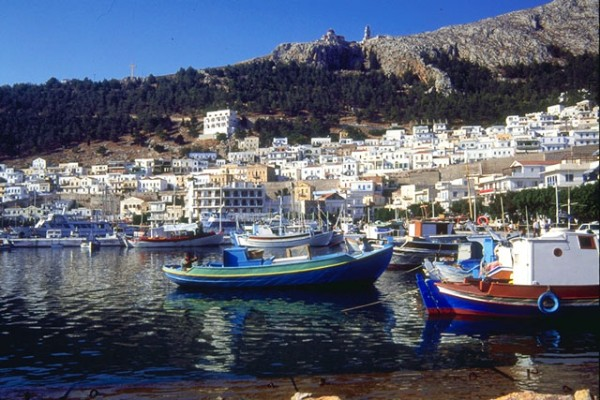 Kalymnos - The Harbour of Pothia.