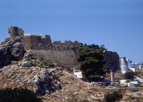 Kalymnos - The Castle of the Crusaders.