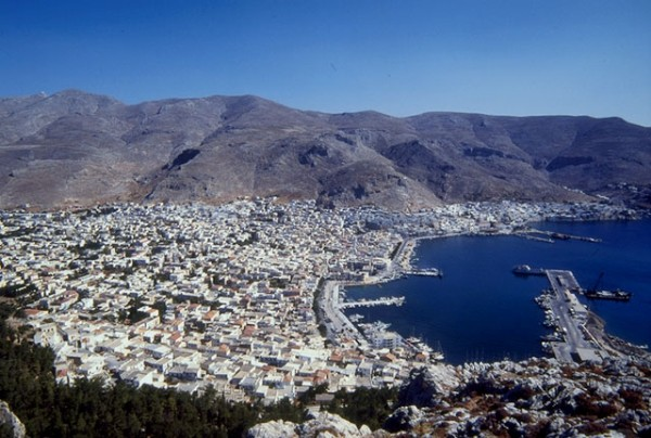 Kalymnos - The Town of Pothia.