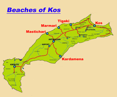 The Beaches of the Island Kos. - Welcome to Nostalgia Travel.